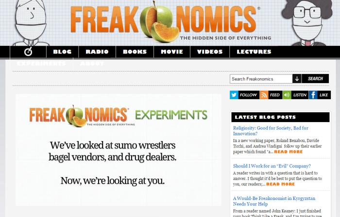 Freakonomics 1