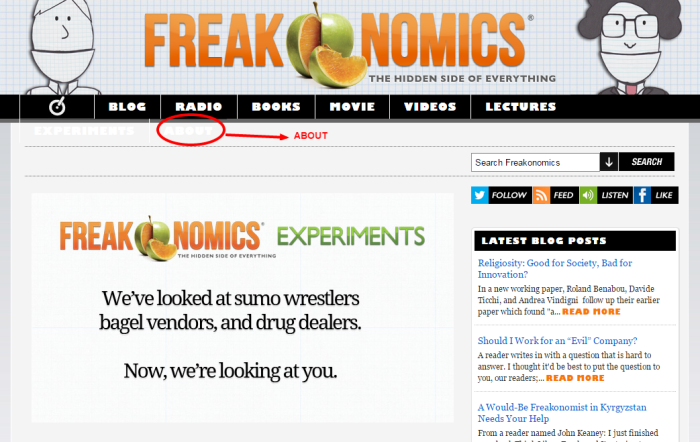 Freakonomics About
